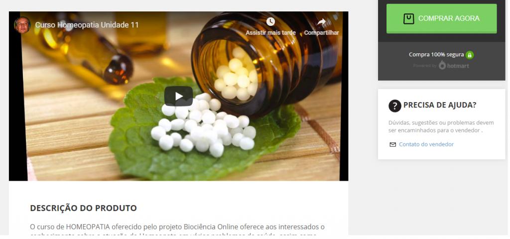 curso de homeopatia online