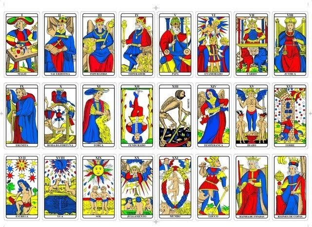 Cartas do Tarot de Marselha