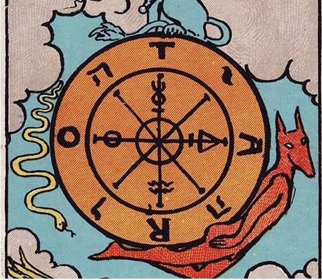 significado cartas tarot roda da fortuna